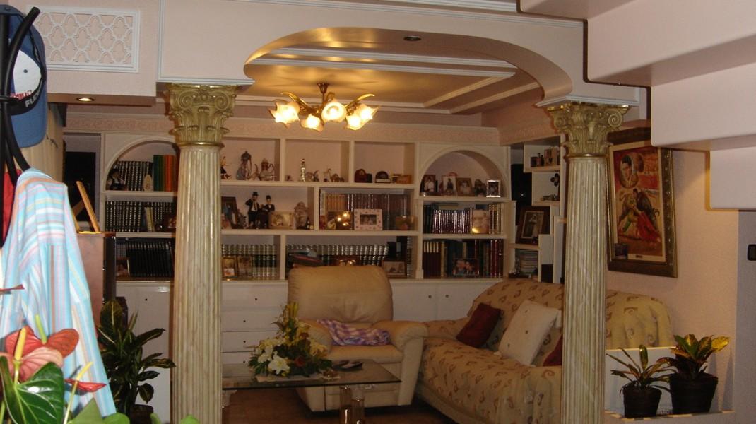 Arcos de escayola decorativos best trendy awesome excellent arco de escayola y pilastra with - Escayola decorativa techo ...